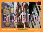 Bolo Bruce Arkin trio