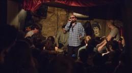 BARCELONA 24 4 2017 Otors escenarios posibles Sesion de hip-hop en Robadors 23 en la imagen actuacion de Escandaloso Exposito Foto de Julio Carbo