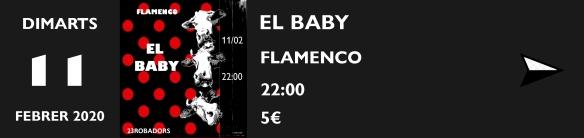 11 FEBRER EL BABY