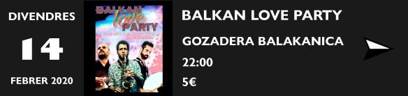 BALAKAN PARTY